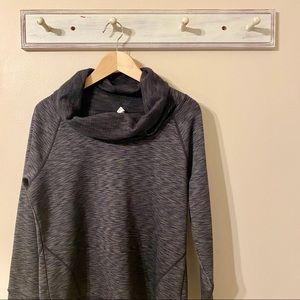 Ideology Charcoal Gray Cowl Neck Sweatshirt